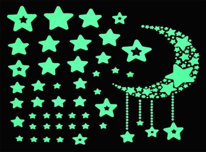 Naklejki Scienne Gwiazdy Fluorescencyjne Arena Pl
