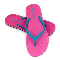 Klapki basenowe japonki MERIDA Rozmiar - Klapki - 40, Kolor - Klapki - Merida - 03 - różowy / niebieski