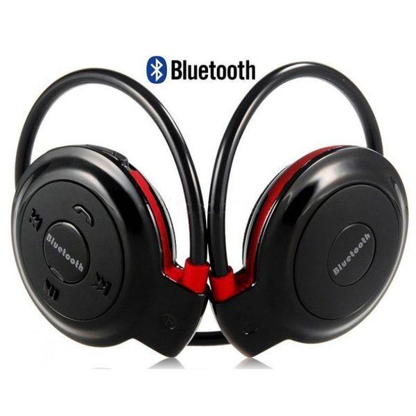 CZARNE Słuchawki sportowe do biegania Bluetooth Radio Karta Pamięci na Arena.pl