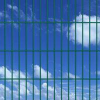 VidaXL Panele ogrodzeniowe 2D z słupkami - 2008x2030 mm 36 m Zielone