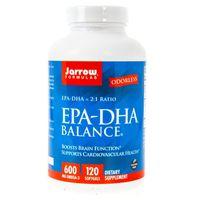 Jarrow Formulas EPA-DHA Balance 600 mg - 120 kapsułek