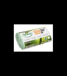 Worki na odpady organiczne i zmieszane  biodegradowalne i kompostowalne MaxAir II 6L rolka 30 sztuk BioBag