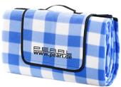 Niebieski koc piknikowy (175 x 200 cm)