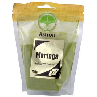 Astron Moringa Mielone Liście 100G