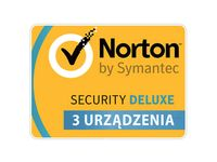 Norton Security Deluxe 3 stanowiska / 1 rok