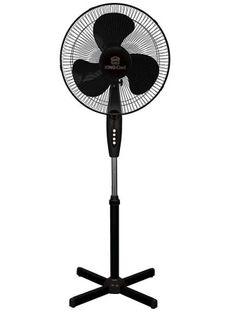 Lumarko Wentylator wiatrak stojący podłogowy kingcool kc-2124 czarny