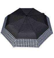 Wytrzymała automatyczna parasolka damska PARASOL, kratka + szachownica