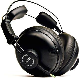 Słuchawki monitory studyjne Superlux HD669 etui odpinany kabel
