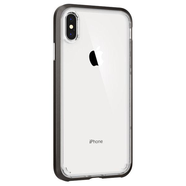 new arrival 4463f f8df0 SPIGEN NEO HYBRID CRYSTAL - iPhone XS Max - GUNMETAL