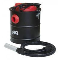 Odkurzacz do kominka 4IQ SPR000001 1000W 20L 230V elektryczny separator kominkowy do odkurzania popiołu ze stali nierdzewnej inox z systemem filltrów powietrza