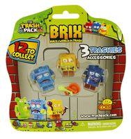 Cobi Trash Pack 3 figurki z Akcesoriami Śmietnik