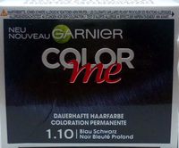 Garnier Color Me farba niebieska czerń 1.10