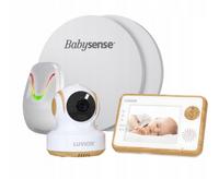 "Videoniania z kamerą Luvion Essential 3,5"" LTD + monitor Babysense 7"