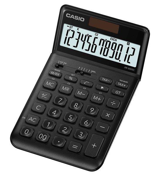 Kalkulator Casio JW-200SC-BK Stylish Series zdjęcie 1