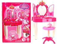 Toaletka dla Małej Księżniczki Lustro i Akcesoria