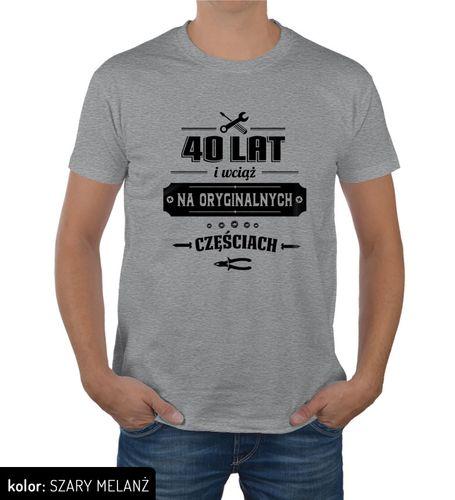 Koszulka męska na urodziny 30 40 50 60 70 lat XL na Arena.pl