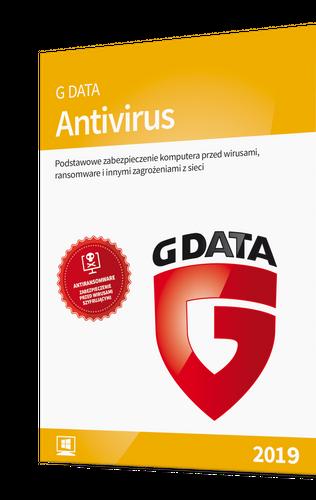 G DATA Antivirus 2 PC / 1 rok na Arena.pl