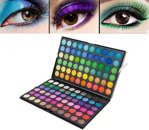 Paleta cieni do makijażu Cienie do Powiek 120 Kolorów D221 na Arena.pl