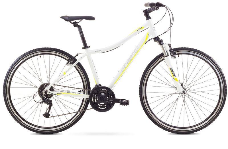 Rower Romet Orkan 2 D biało-zielony rama 19'' zdjęcie 1