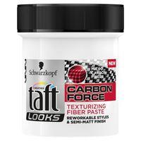 Taft Looks Carbon Force - Modelująca Pasta Do Włosów - Texturizing Fiber Paste - 130 Ml