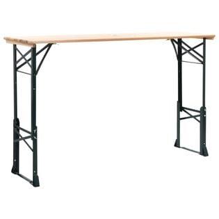 Lumarko Stół biesiadny składany, 169x50x75/105 cm, drewno sosnowe