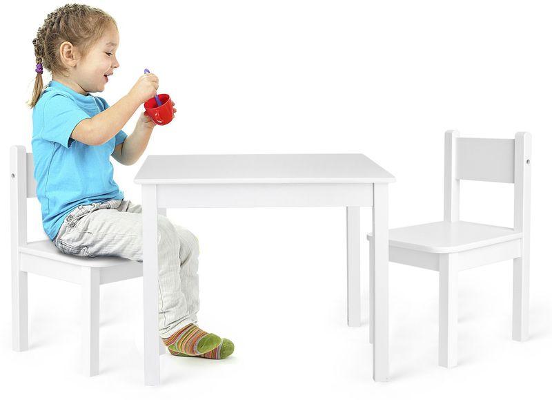 """Stolik z krzesełkami """"Yeti"""" Biały na Arena.pl"""