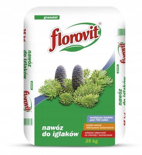 Nawóz do roślin iglastych Florovit 25 kg na Arena.pl