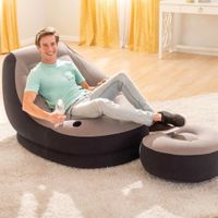 Intex Fotel Dmuchany Z Pufem Ultra Lounge Relax, 68564Np
