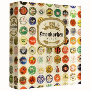 Grande - album na kapsle od piwa jasny + 5 kart