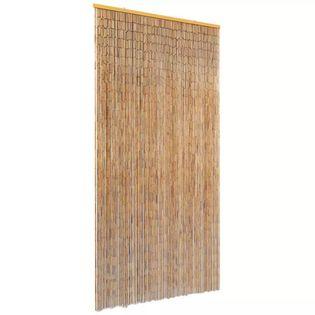 Zasłona Na Drzwi, Bambusowa, 90 X 220 Cm