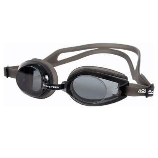 Okulary pływackie AVANTI Kolor-Okulary - 07-czarny/ciemne szkła