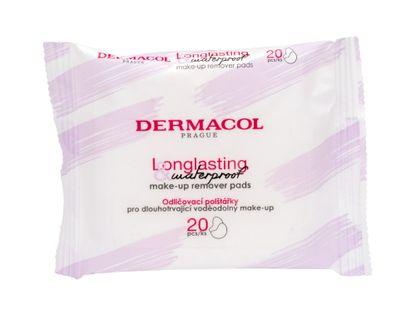 Dermacol Longlasting & Waterproof Chusteczki oczyszczające 20szt