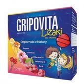 Gripovita Lizaki, 12 sztuk - Długi termin ważności!