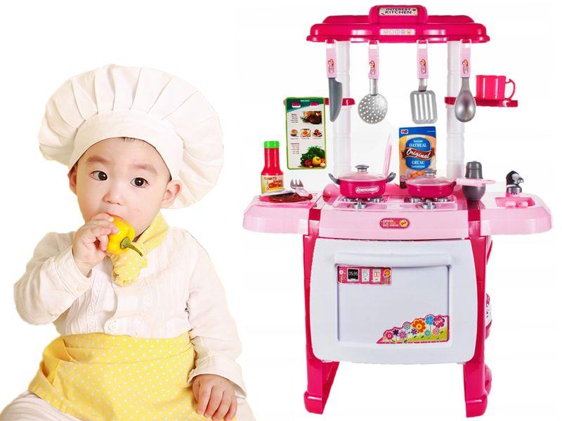 Kuchnia dla dzieci Piekarnik Zlew + Akcesoria Y162Z na Arena.pl