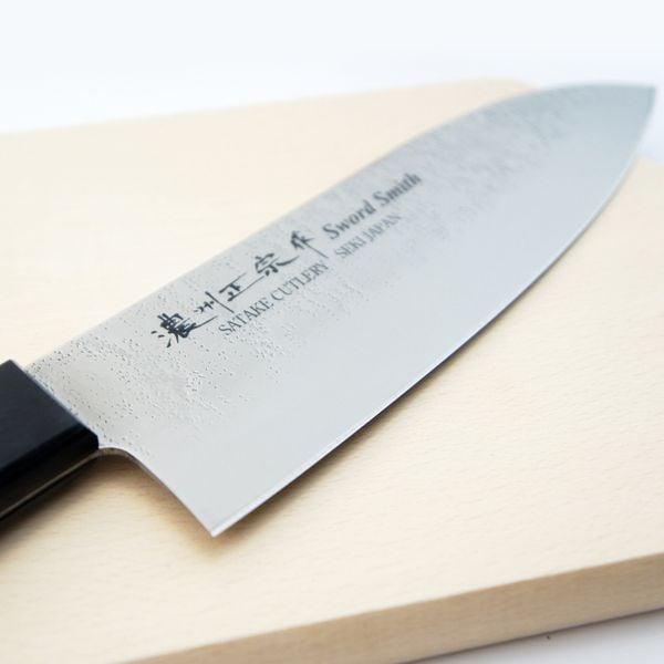 0534198e089b Japoński nóż SANTOKU ze stali nierdzewnej 17 cm • Arena.pl
