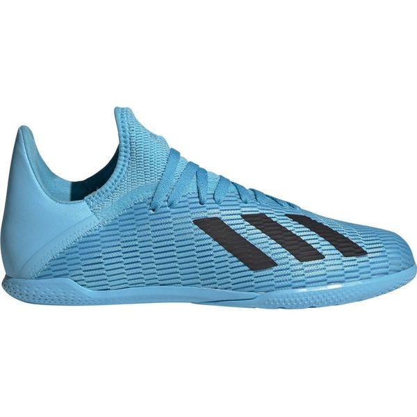Buty piłkarskie adidas X 19.3 In Jr F35354 niebieskie r.29