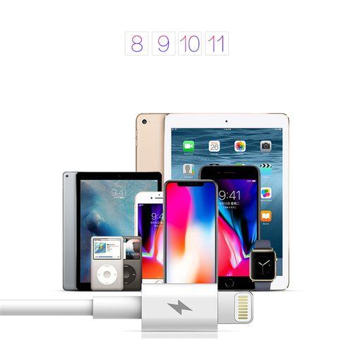 ROCK Ładowarka USB-C Quick Charge + KABEL IPHONE 7 8 X iPad na Arena.pl