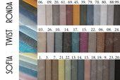 Łóżko tapicerowane STORIE 160x200+ Stelaż zdjęcie 14