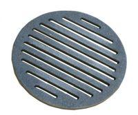 Ruszt żeliwny piecowy okrągły fi 25cm