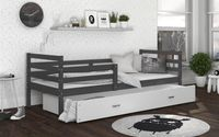 Łóżko JACEK P COLOR 190x80 szuflada + materac