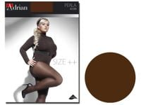 Rajstopy Perla size plus 40 den mikrofibra Chocolate 7