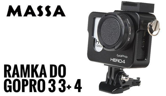RAMKA, obudowa aluminiowa do GoPro HERO 3 3+ 4 zdjęcie 2