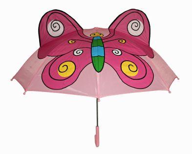 Parasolka dziecięca - kolorowy motylek