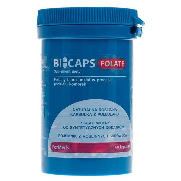 Formeds Bicaps Folate - 60 kapsułek zdjęcie 1