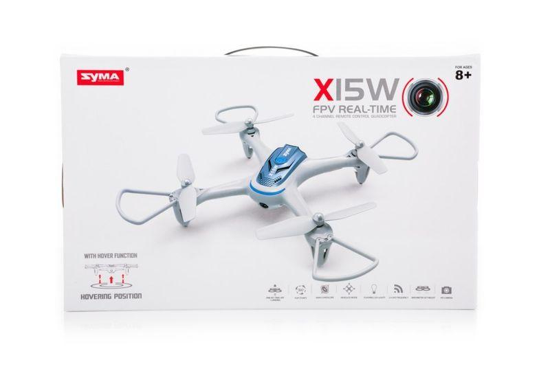 DRON RC SYMA X15W 2,4GHZ KAMERA FPV WI-FI zdjęcie 7