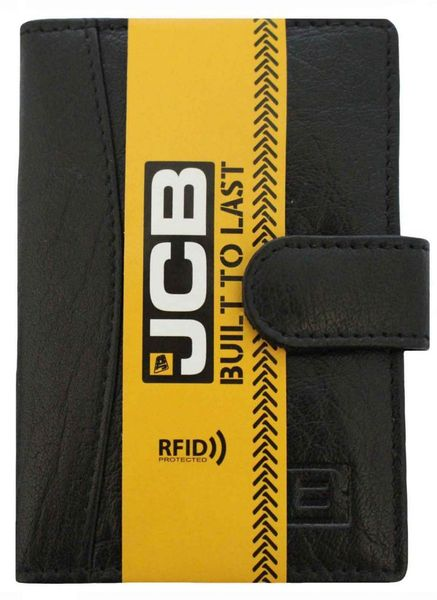 2b7598b24f6d0 Portfel męski etui organizer skóra naturalna + eleganckie pudełko RFID CC8  Czarny zdjęcie 1
