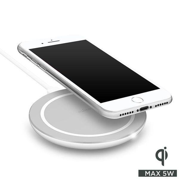 PURO Wireless Charging Station Qi - Uniwersalna stacja USB-C z ładowaniem indukcyjnym (biały) zdjęcie 1