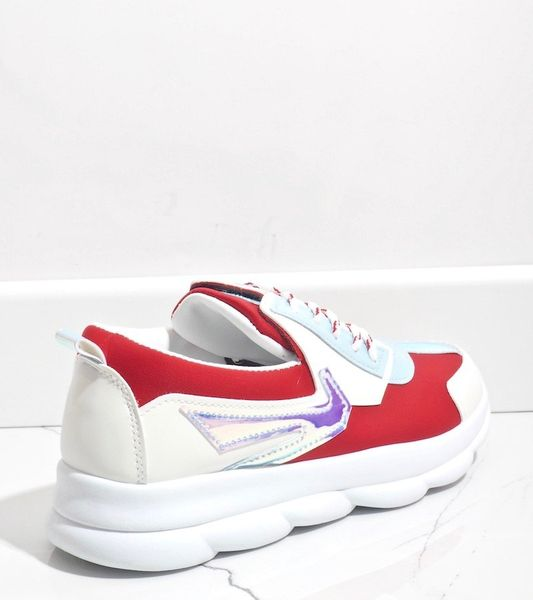 Białe sneakersy sportowe damskie W-3112 41 zdjęcie 4