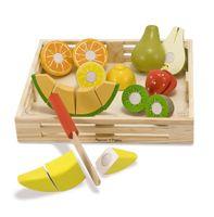 Owoce do nauki krojenia - duży zestaw