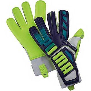 Rękawice bramkarskie Puma Evo Speed 1.3 Prism fioletowo-żółte 041015 01